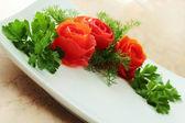 Ramo de tomates — Foto de Stock