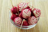 Rosa de un rábano — Foto de Stock