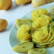 Prepared potato as flower — Stock Photo #25861779
