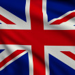 Flag of United Kingdom — Stock Photo