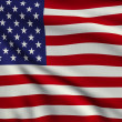 Flag of United States — Stock Photo