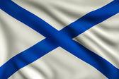 Andreevsky flag — Stock Photo