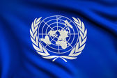 Flag of United Nations — Stock Photo