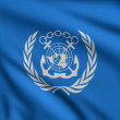 Stock Photo: Flag of IMO