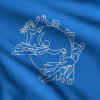 Stock Photo: Flag of UPU