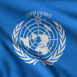 Stock Photo: Flag of WMO