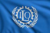 Flag of ILO — Stock Photo