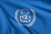 Flag of IMO — Stock Photo