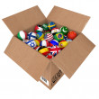 Balls as national flags of the world countries — Stock Photo