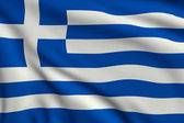 Flag of Greece — Stockfoto