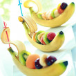 Stock Photo: Composition from ripe fruit