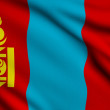 Flag of Mongolia — Stockfoto #38243377