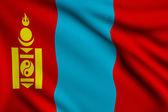 Flag of Mongolia — Stock Photo