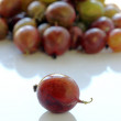 Gooseberry close up is on a table — Stock Photo #50276649