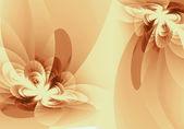 Flower fractal — Stock Photo