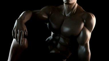 Bodybuilder 3 — Vídeo de stock