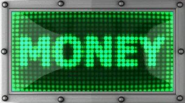 Tablo dinero 2 — Vídeo de Stock