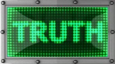Tablo truth 2 — Stock Video