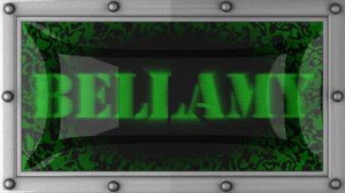 Bellamy op geleid — Stockvideo