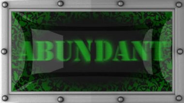 Abundant on led — Stock Video