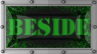 Beside on led — Vídeo de Stock