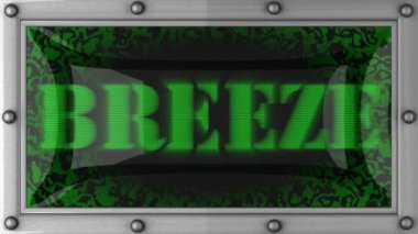 Breeze on led — Vídeo Stock