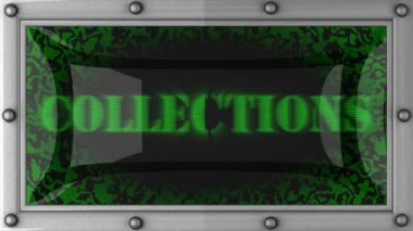 Collections on led — Wideo stockowe