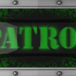 Patrol on led — Stock Video