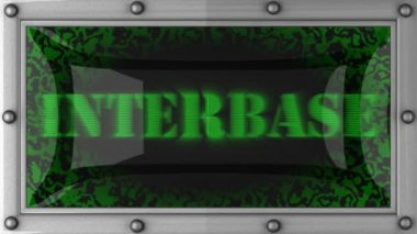 Interbase on led — Stok video
