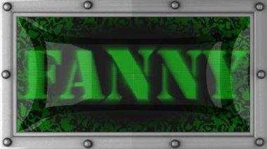 Fanny em led — Vídeo Stock