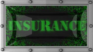 保険を導いた — ストックビデオ