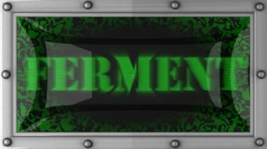 Ferment on led — Stock Video