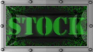 Voorraad op geleid — Stockvideo