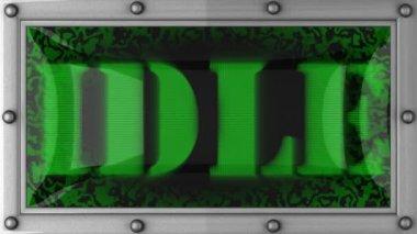 Idle ha portato via — Video Stock