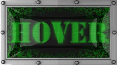 Hover on led — Video Stock