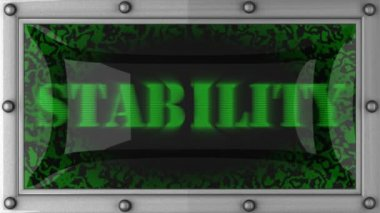 Stability on led — Wideo stockowe
