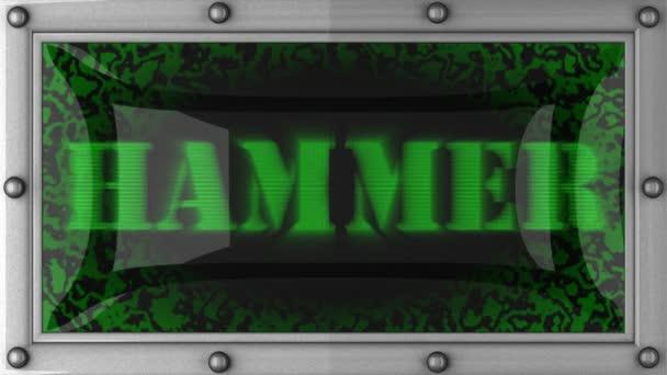 Hammer on led — Vidéo