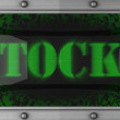 Stocks on led — Stock Video