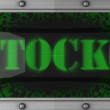 Stocky on led — Stock Video