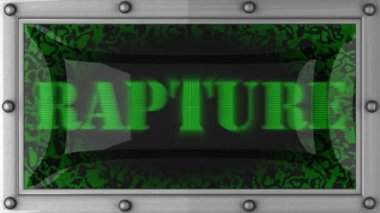 Rapture on led — Stock Video