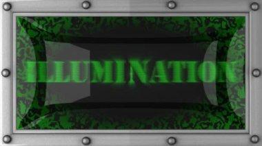 Illumination on led — Stock Video