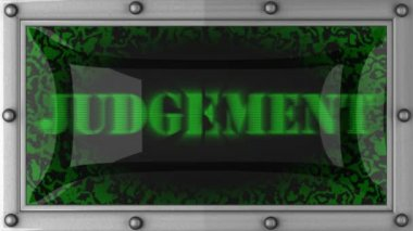 Judgement on led — Wideo stockowe