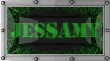 Jessamy on led — Vídeo de stock