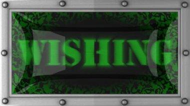 Wishing on led — Wideo stockowe
