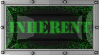 Inherent on led — Stock Video