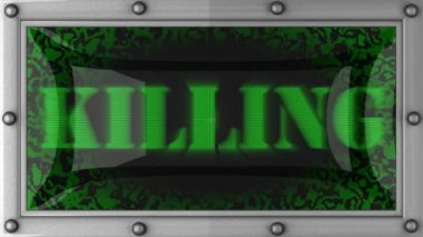 Killing on led — Wideo stockowe