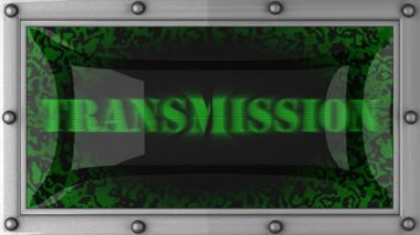 Transmission on led — Stockvideo