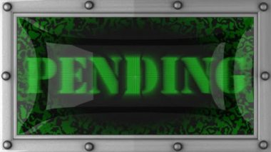 Pending on led — Wideo stockowe
