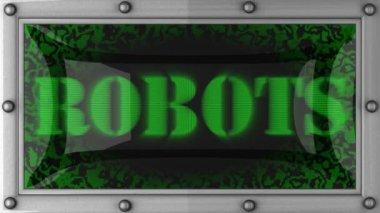 Robot sul condotto — Video Stock