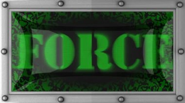 Force on led — Wideo stockowe